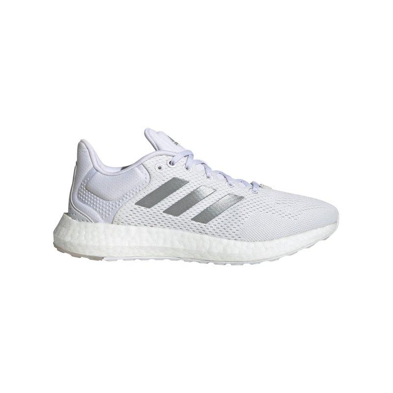 adidas Pureboost 21 Running Damen Weiss - weiss