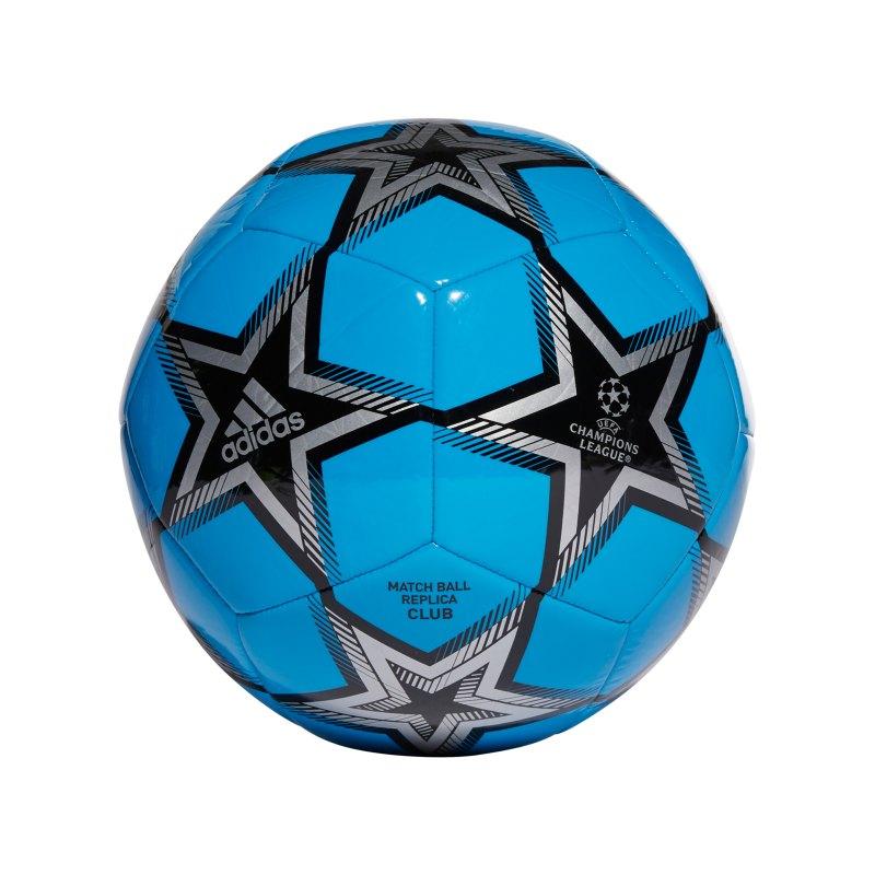 adidas UCL Finale 21 Club Spielball Blau - blau
