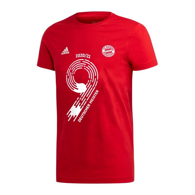 adidas FC Bayern München Meistershirt 2021 Rot - rot