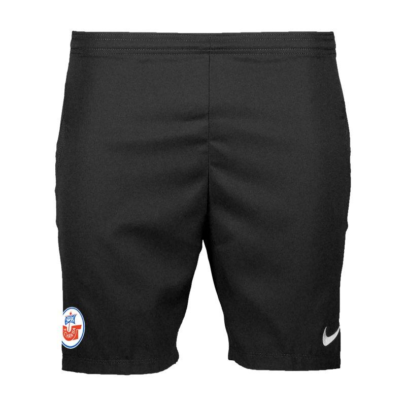 Nike Hansa Rostock Short 3rd 2020/2021 Kids Schwarz F010 - schwarz