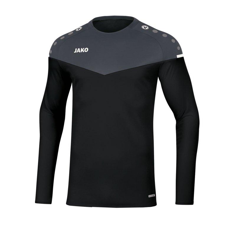 Jako Champ 2.0 Sweatshirt Kids Schwarz F08 - schwarz