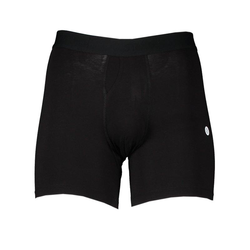Stance Standard 6in 2 Pack Boxershort Schwarz - schwarz