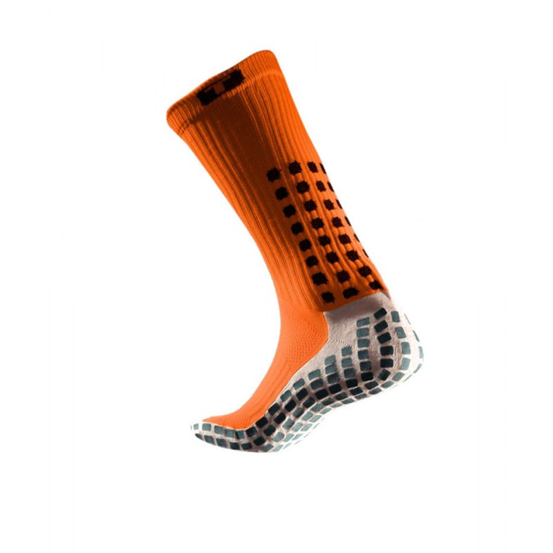 TruSox Socken Mid Calf Cushion Orange Schwarz - orange