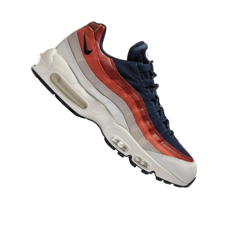 Nike Air Max 95 Essential Sneaker Blau Weiss F108 - blau