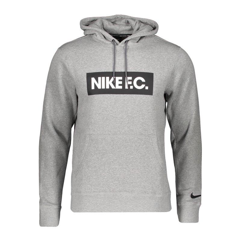 Nike F.C. Fleece Hoody Grau F021 - grau