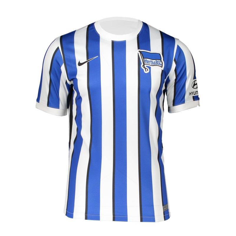 Hertha BSC Trikot Home 2020/2021 Kids Weiss Blau F101 - weiss