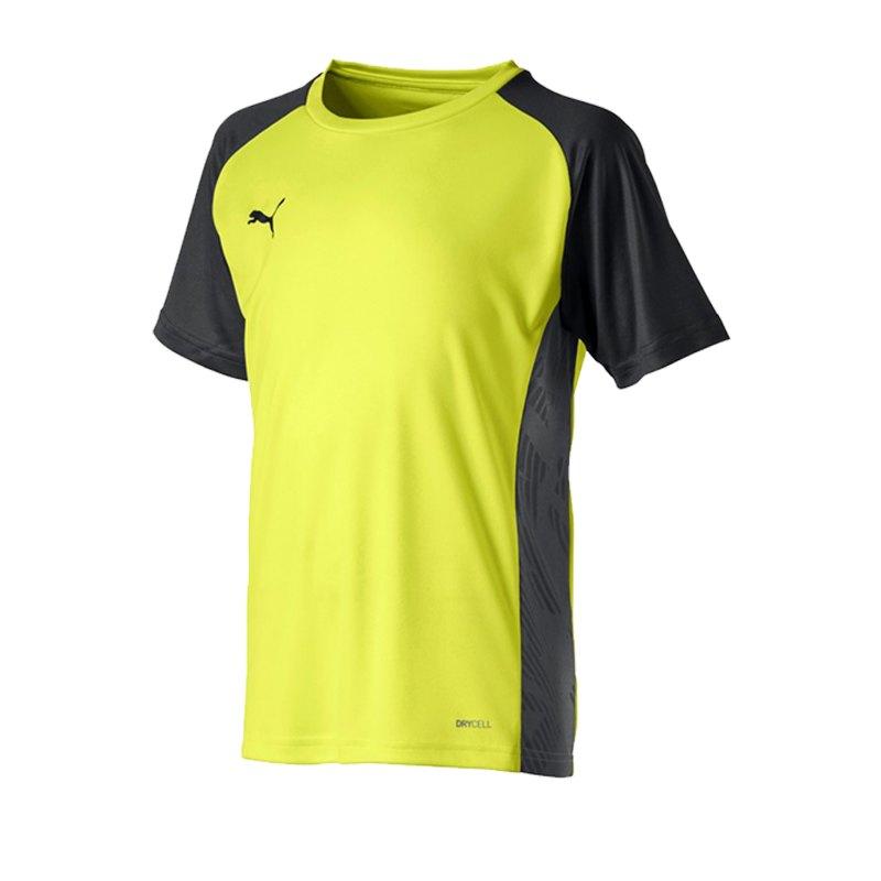 PUMA CUP Sideline Core T-Shirt Kids Gelb F16 - gelb