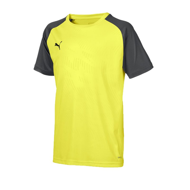 PUMA CUP Training Core T-Shirt Kids Gelb F16 - gelb