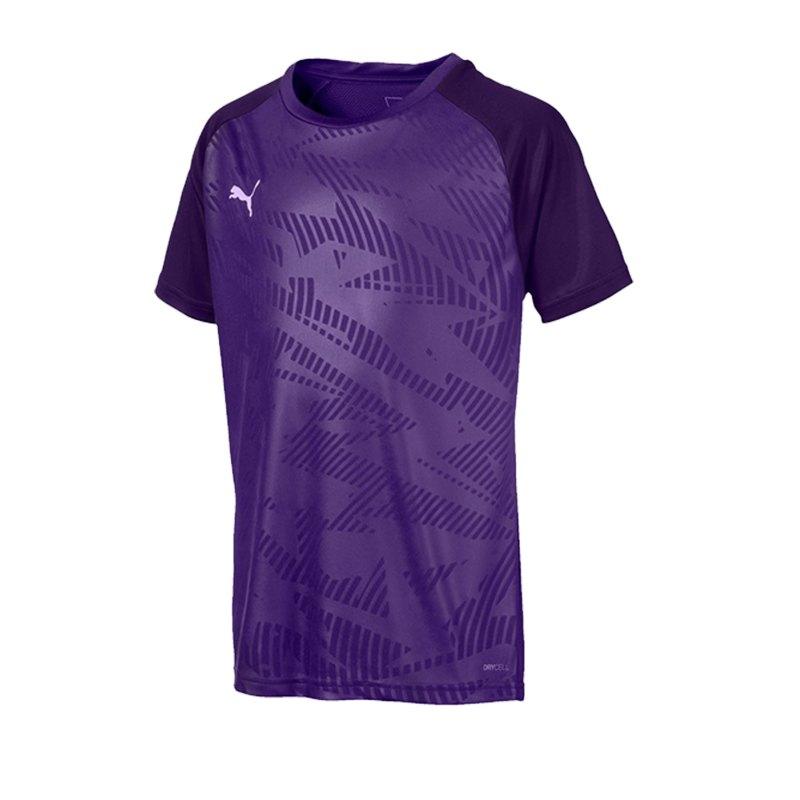PUMA CUP Training Core T-Shirt Kids Lila F10 - lila