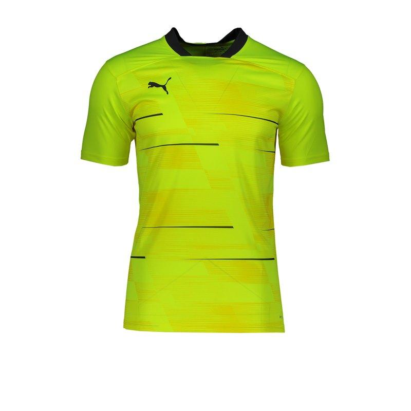 PUMA ftblNXT Graphic T-Shirt Gelb Grau F004 - gelb