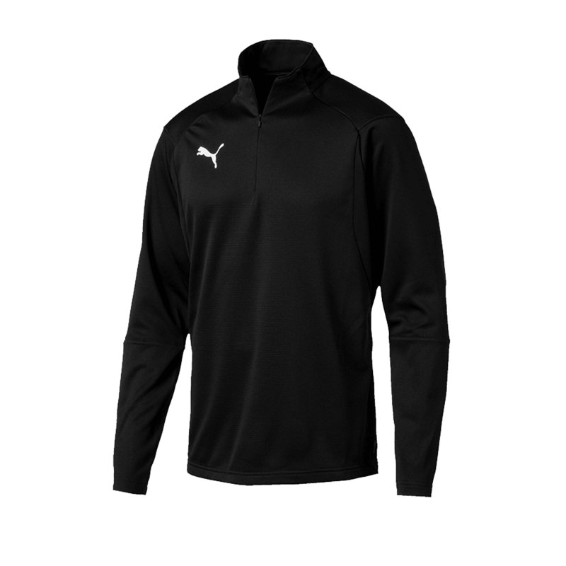 PUMA LIGA Training 1/4 Zip Top Sweatshirt F03 - schwarz