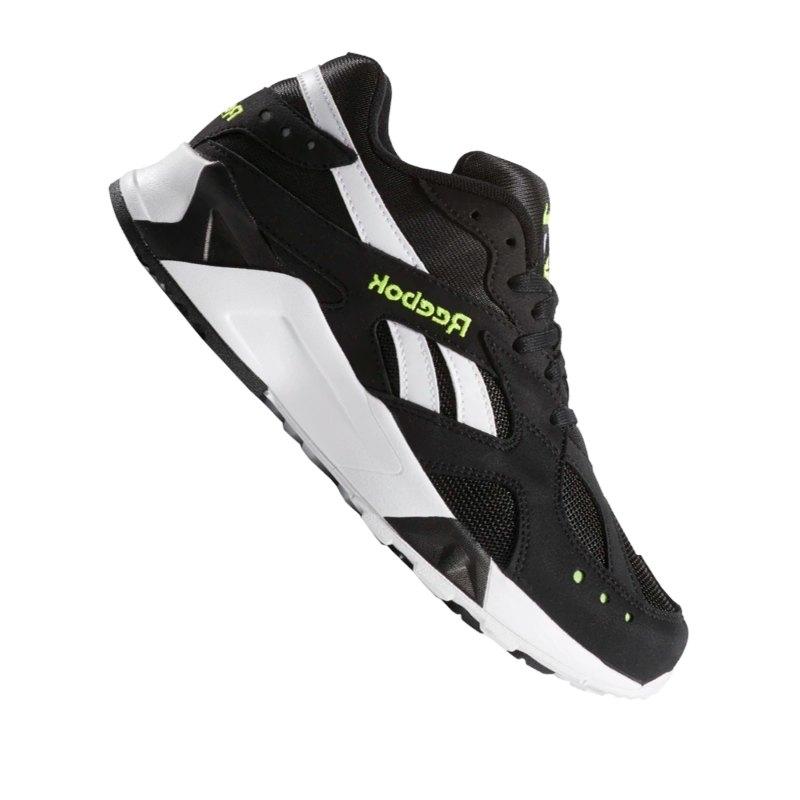 Reebok Aztrek Sneaker Schwarz Weiss Grün - schwarz