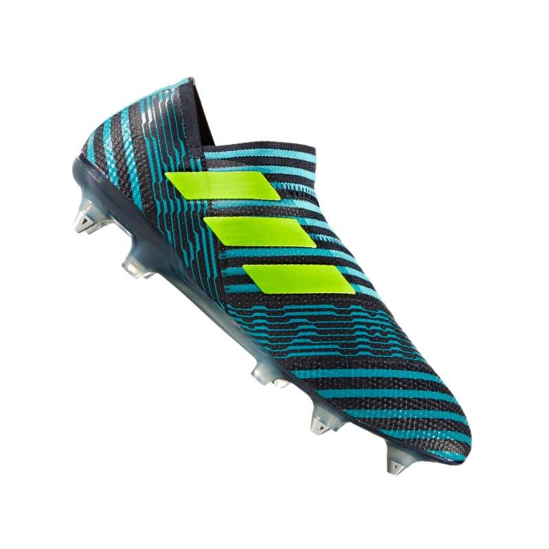 adidas SG NEMEZIZ 17+ 360Agility Blau Gelb - blau