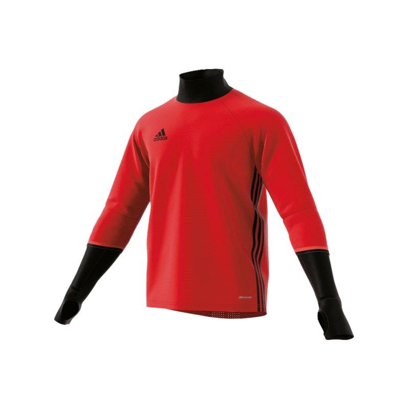 adidas Condivo 16 Training Top Kinder Rot Schwarz - rot