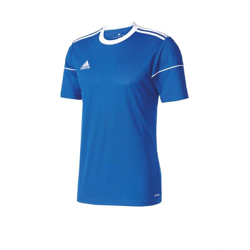 adidas Squadra 17 Trikot kurzarm Kids Blau Weiss - blau