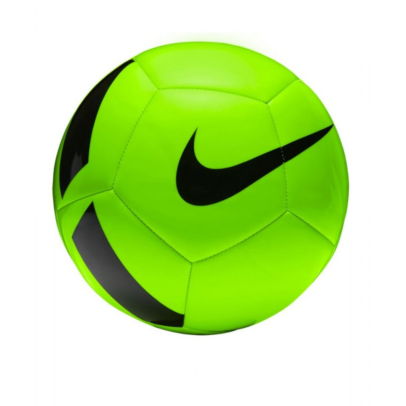 Nike Fussball Pitch Team Football Grün F336 - gruen