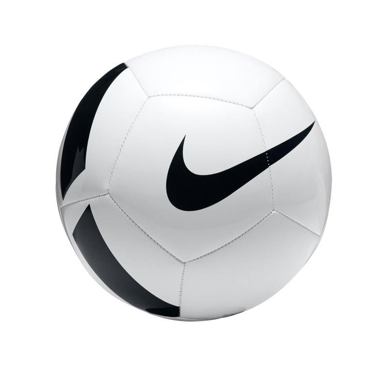 Nike Fussball Pitch Team Football Weiss F100 - weiss