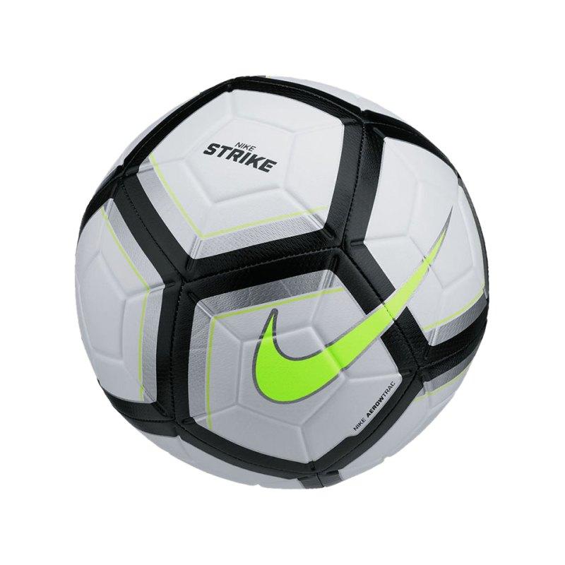 Nike Fussball Team Strike Football Silber F102 - silber