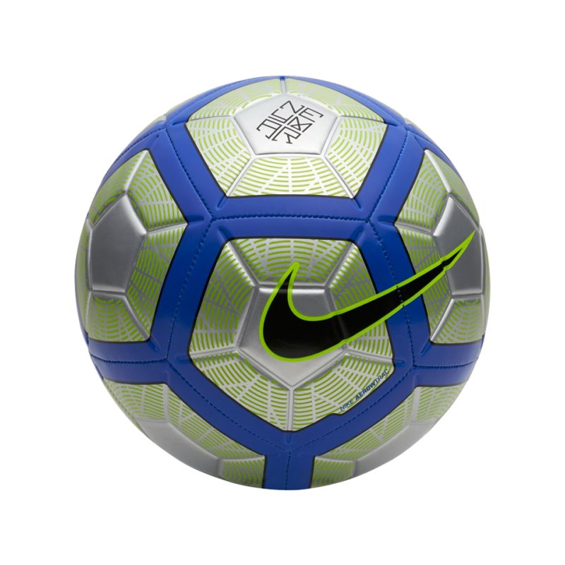 Nike Neymar Strike Football Fussball Silber F012 - silber