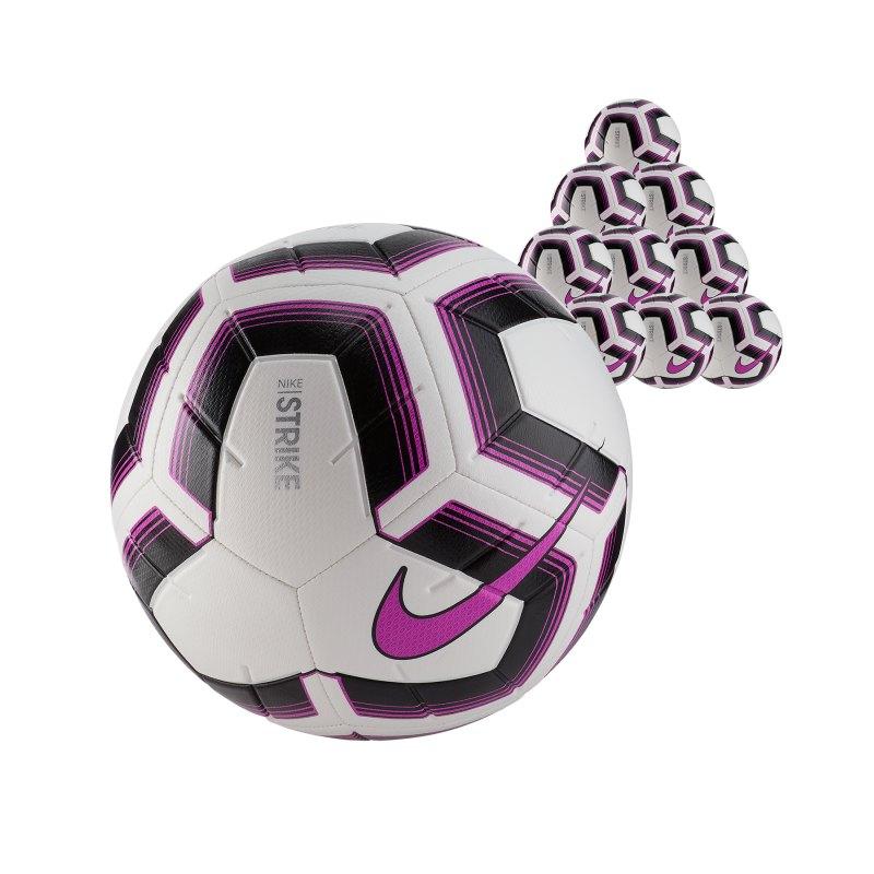 Nike Strike Team 10x Trainingsball Gr.4 Weiss F100 - weiss