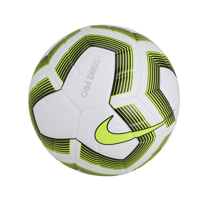 Nike Strike Pro Team Trainingsball Weiss F100 - weiss