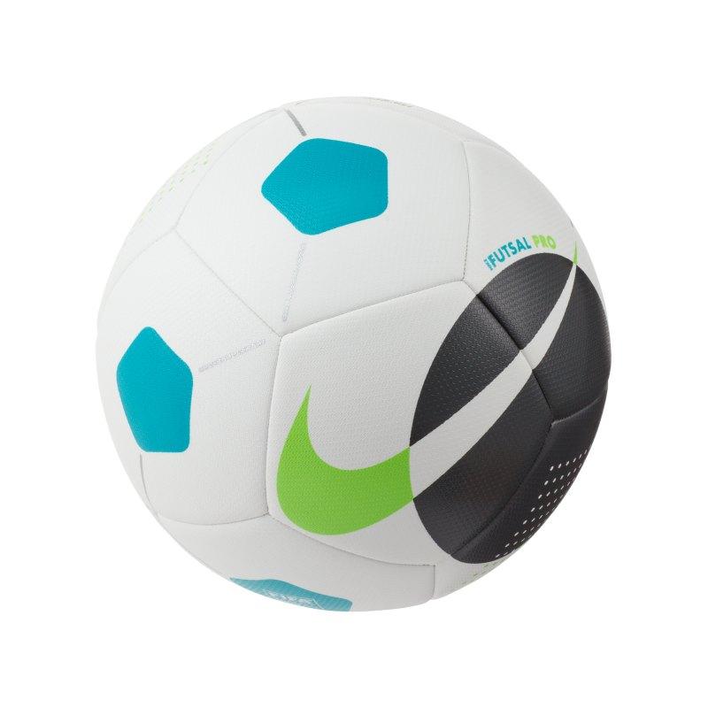 Nike Pro Futsalball Weiss Grün F106 - weiss