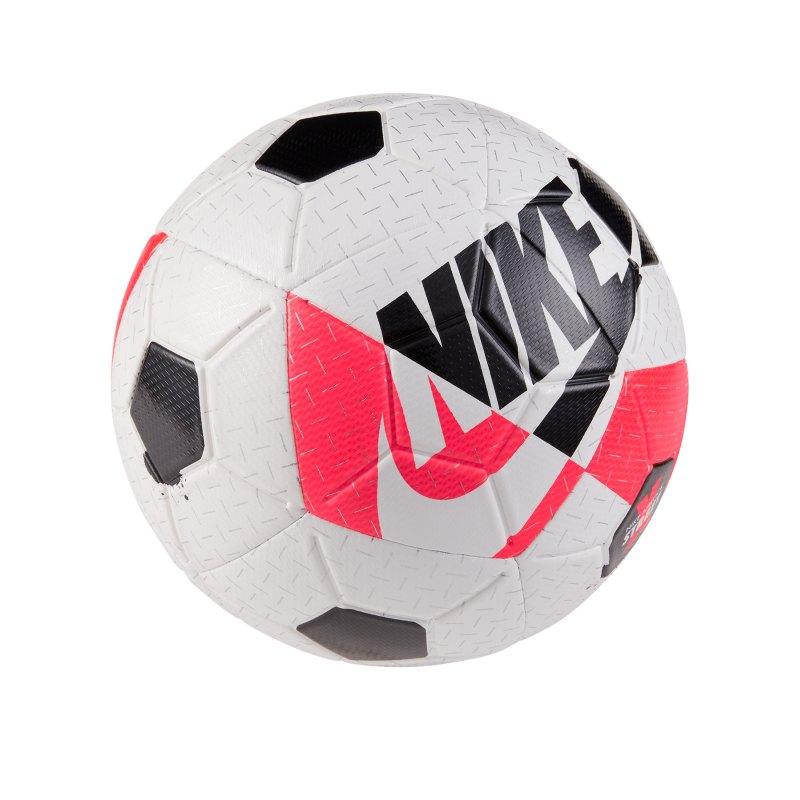 Nike Airlock Street X Trainingsball Weiss Rot F100 - weiss