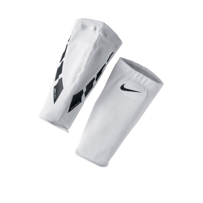 Nike Stutzenhalter Guard Lock Elite Sleeves Weiss F103 - weiss