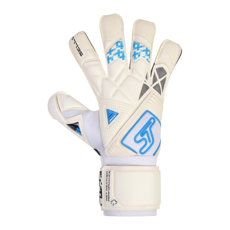 Sells Total Contact H20 TW-Handschuh Weiss Schwarz Blau - weiss