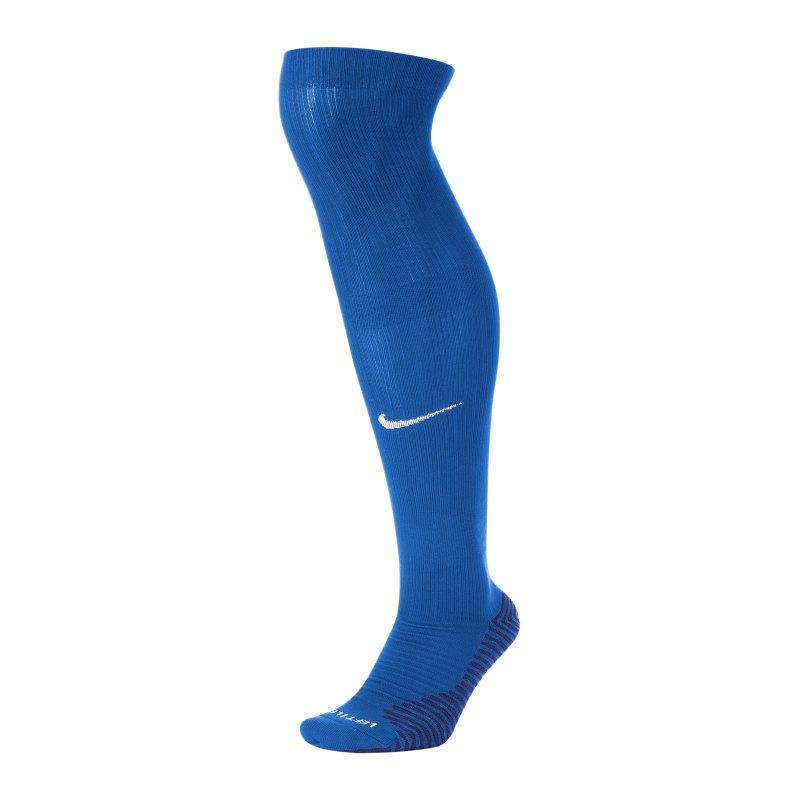 Nike Squad Stutzenstrumpf Blau F463 - blau