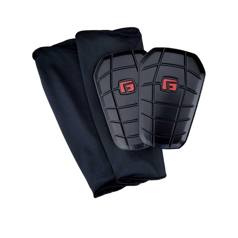 G-Form PRO-S Blade Schienbeinschoner Schwarz Rot - schwarz