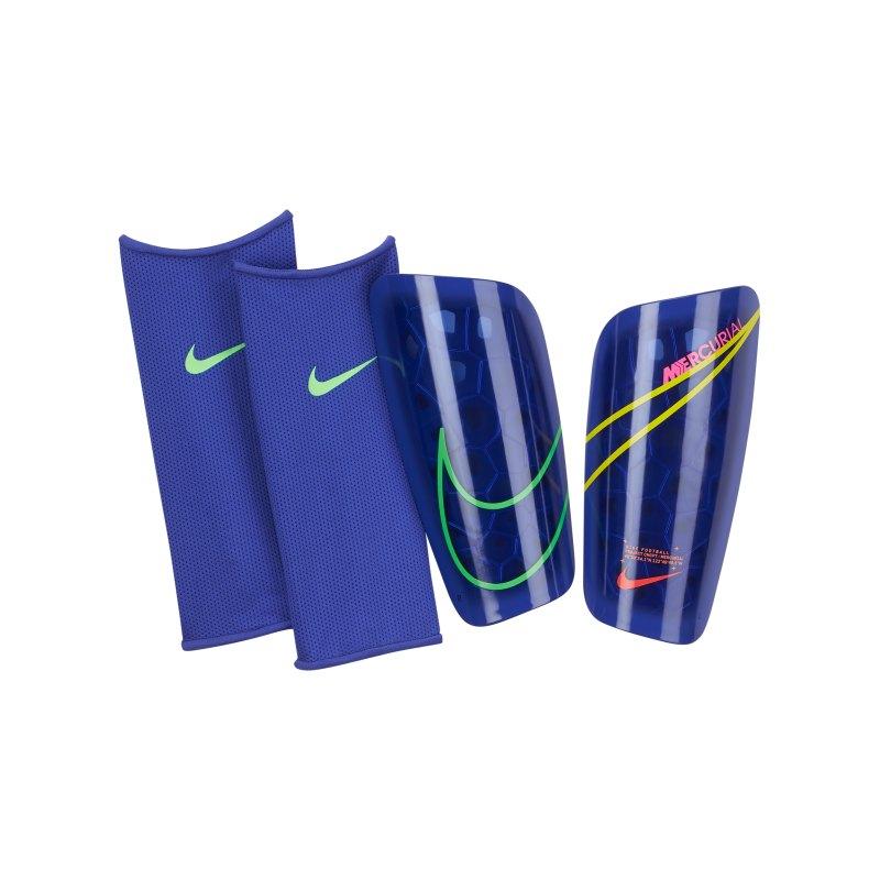Nike Mercurial Lite Schienbeinschoner Blau F431 - blau