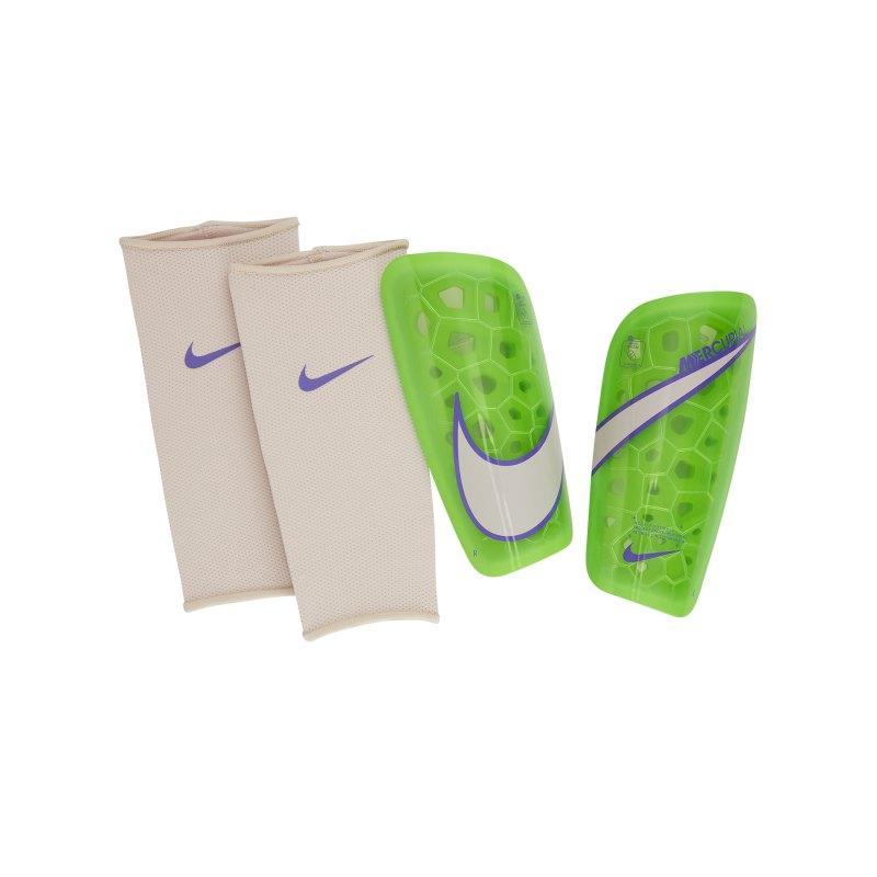 Nike Mercurial Lite Schienbeinschoner Grün F359 - gruen