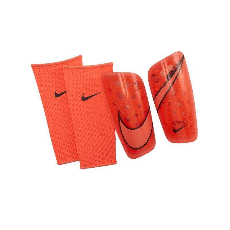 Nike Mercurial Lite Schienbeinschoner Orange F892 - orange