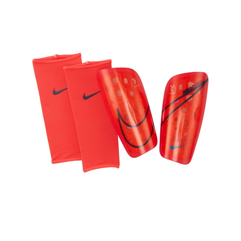 Nike Mercurial Lite Schienbeinschoner Rot F644 - rot