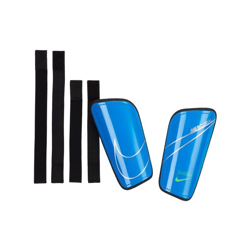 Nike Mercurial Hard Shell Schienbeinschoner F406 - blau
