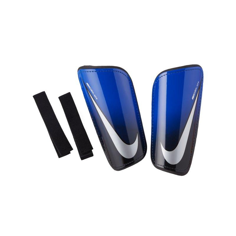 Nike Mercurial Hard Shell Schienbeinschoner F410 - blau