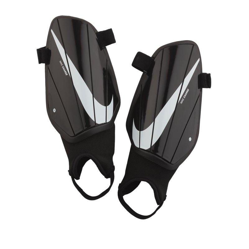 Nike Charge Schienbeinschoner Schwarz Weiss F010 - schwarz