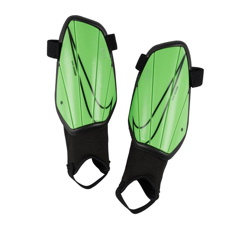 Nike Youth Charge Schienbeinschoner Kids F398 - gruen