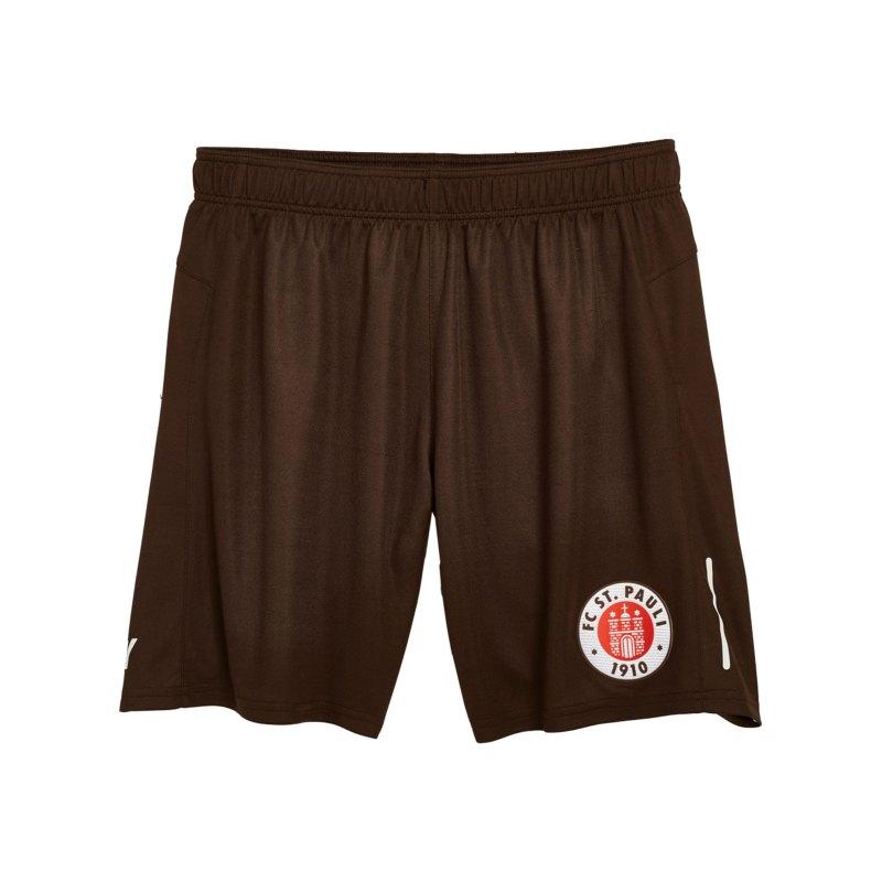 DIIY FC St. Pauli Short Home 2021/2022 Kids Braun - braun