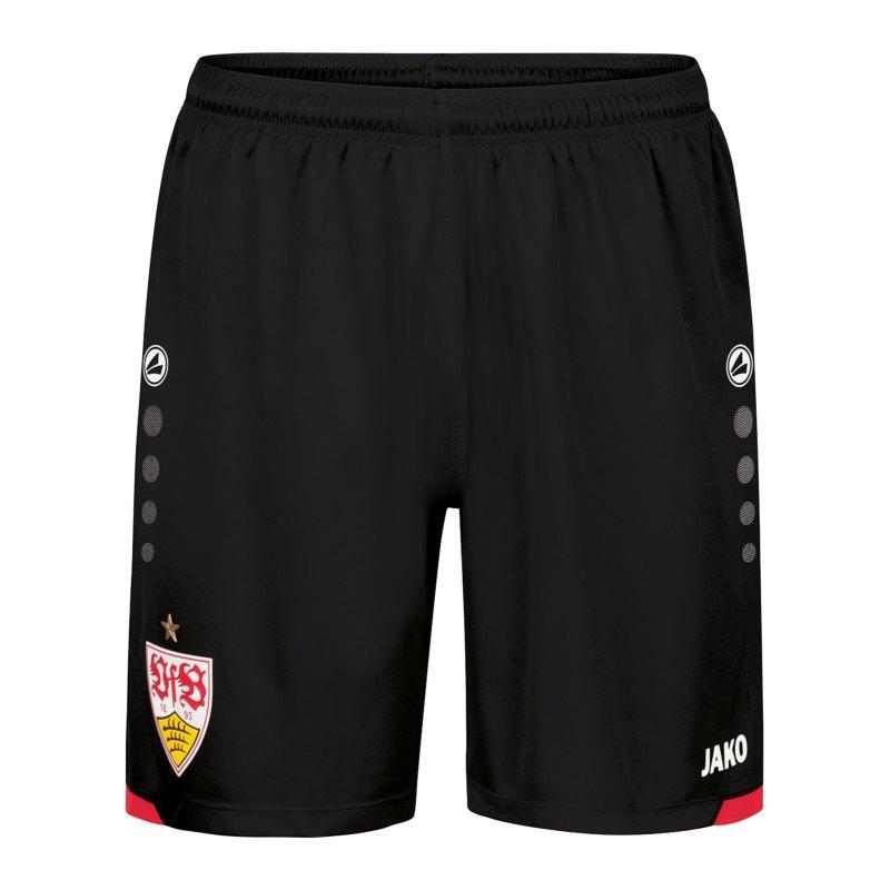 JAKO VfB Stuttgart Short Home 2021/2022 Kids Schwarz F800 - schwarz