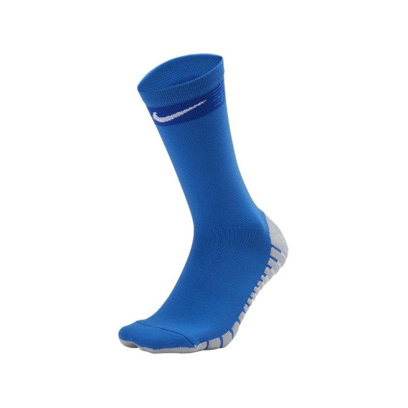 Nike Team Matchfit Crew Socken Blau F463 - blau