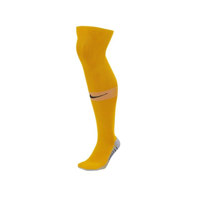 Nike Team Matchfit OTC Sockenstutzen Gelb F739 - orange