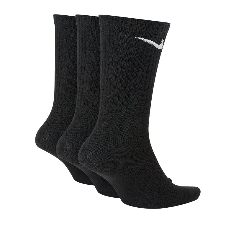 Nike Everyday Lightweight 3er Pack Socken F010 - schwarz