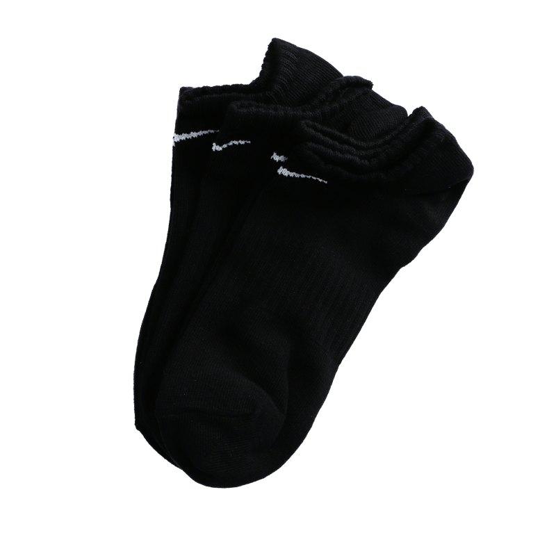 Nike Everyday LW No-Show Socken 3er Pack F010 - schwarz