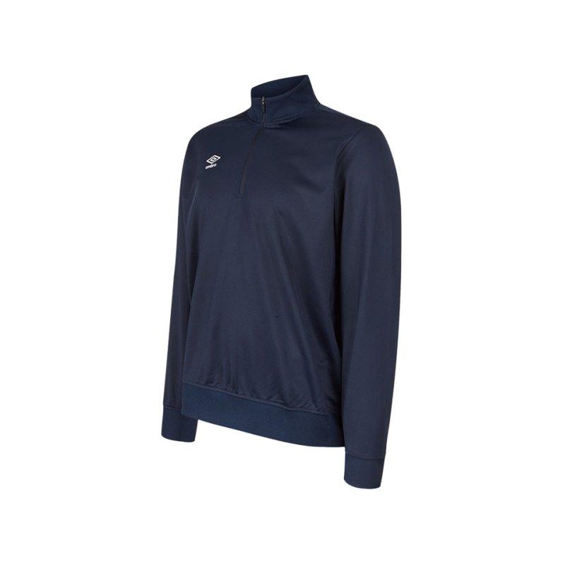 Umbro Club Essential 1/2 Zip Sweater Blau FY70 - blau