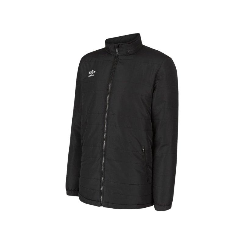 Umbro Club Essential Bench Jacke Schwarz F005 - schwarz