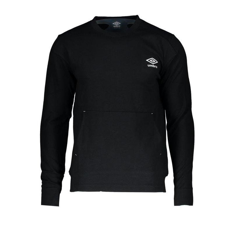 Umbro Crew Sweatshirt Schwarz F005 - Schwarz