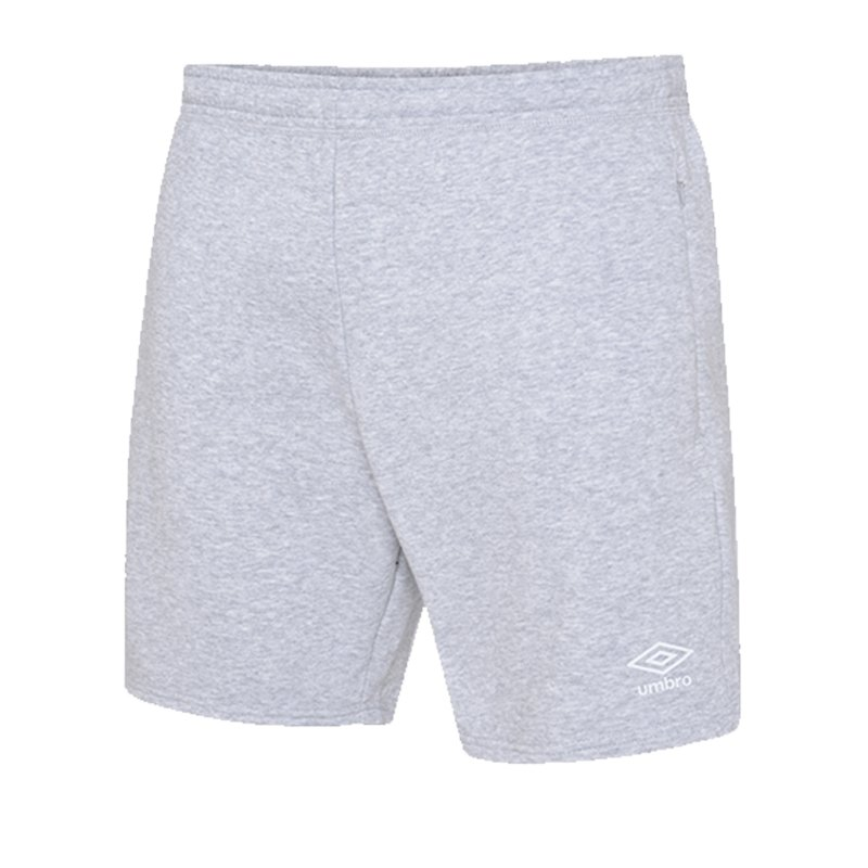 Umbro Club Leisure Jog Short Kids Grau FP12 - grau