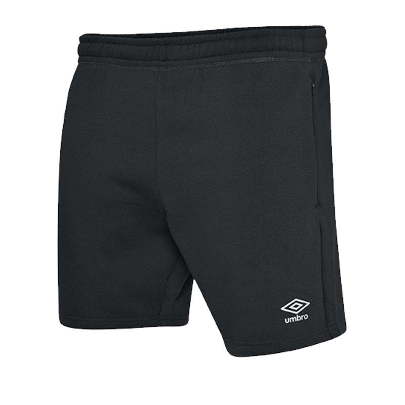 Umbro Club Leisure Jog Short Kids Schwarz F090 - schwarz